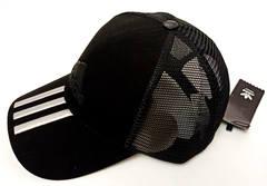 Популярная спортивная кепка с козырьком Adidas M30627 W-Black