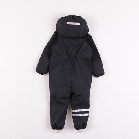 Softshell Demi-season  jumpsuit - Black
