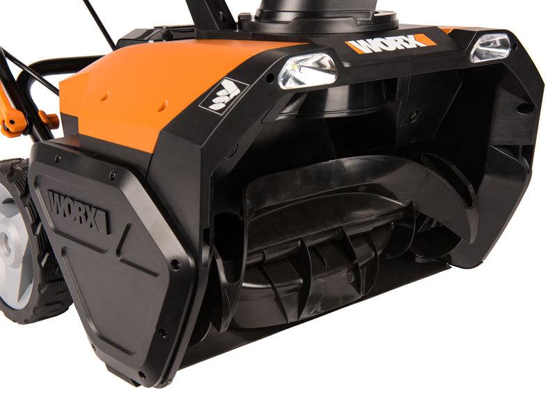 Снегоуборщик аккумуляторный WORX WG471E 40В