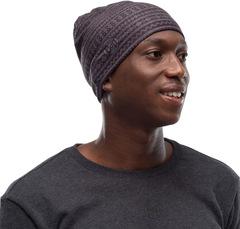 Тонкая флисовая шапочка Buff Hat Polar Microfiber Ume Black - 2