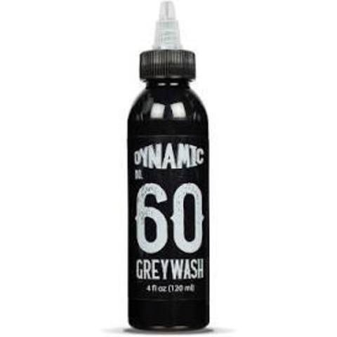 ТАТУ КРАСКА DYNAMIC #60 GREYWASH (Deep Medium Greywash) 120 мл