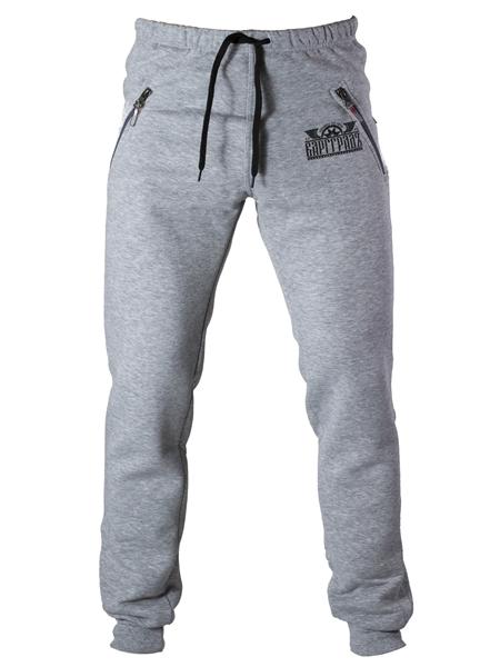 Спорт-брюки Варгградъ мужские серый меланж