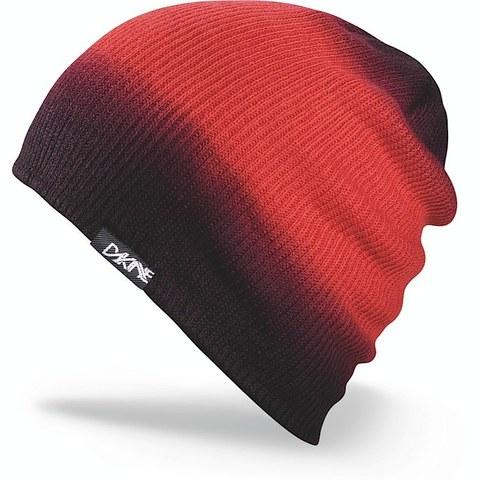 Картинка шапка-бини Dakine Faded Red  - 1