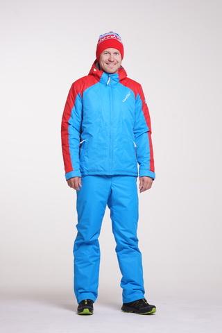 Теплая лыжная куртка Nordski National Blue мужская