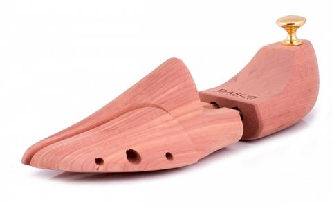 Колодки  для обуви, подпружиненный, кедр, DASCO А0647DAS CEDAR Side Split Twin Tube