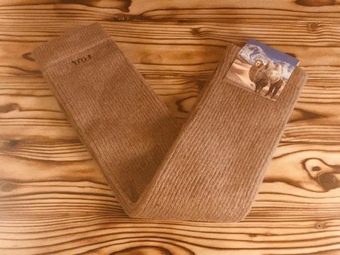 Гетры из верблюжьей шерсти (коричневый цвет) фото1