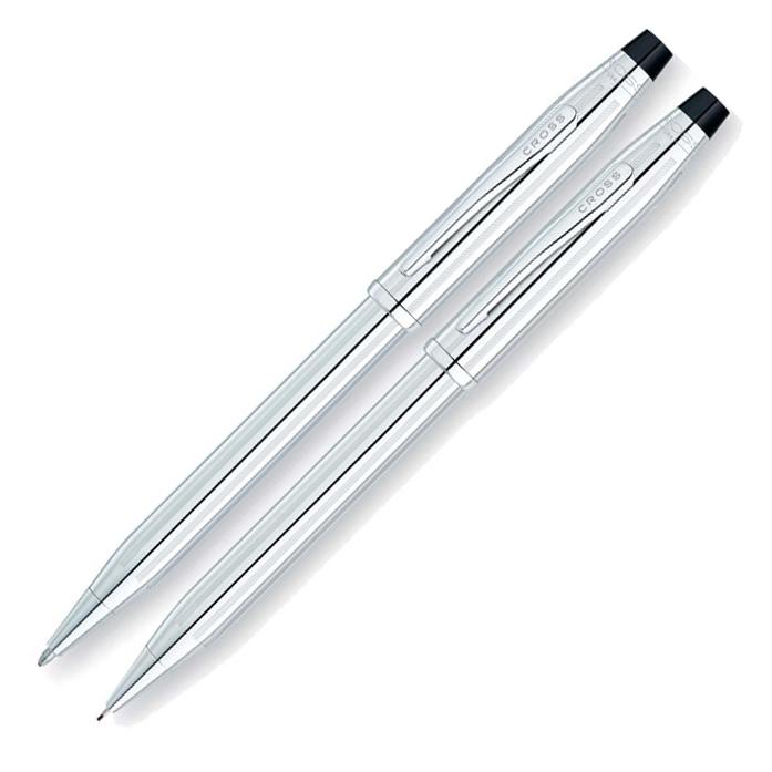 Набор подарочный Cross Century II, шариковая ручка + карандаш 0,7мм