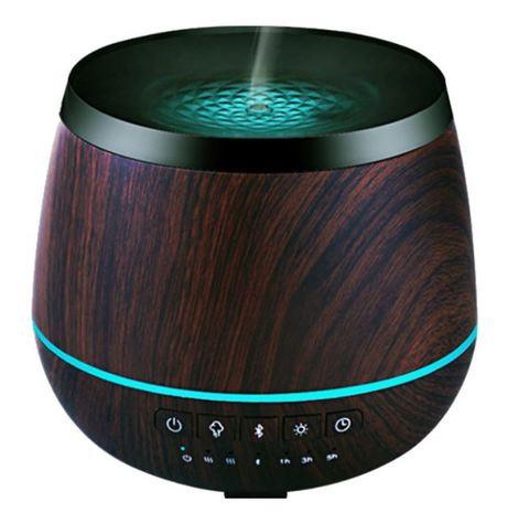 Аромадиффузор ультразвуковой Lotus + Bluetooth колонки