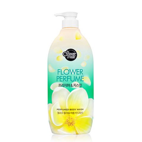 Гель для душа KeraSys Shower Mate Flower Perfume Yellow Flower Жасмин / 900 мл.
