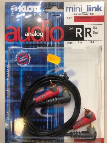 KLOTZ AT-CCA0100 - Соединительный аудио кабель RC204