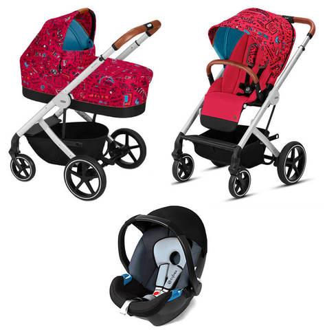 Детская коляска Cybex Balios S 3 в 1 FE Love