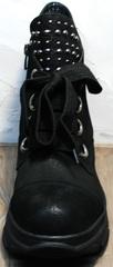 Женские демисезонные ботинки кроссовки Rifellini Rovigo 525 Black.