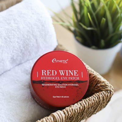 Гидрогелевые патчи для глаз с красным вином Esthetic House Red Wine Hydrogel Eyepatch