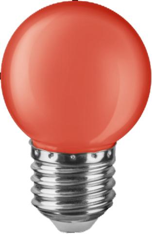 Лампа Navigator 71 827 NLL-G45-1-230-R-E27 Красная