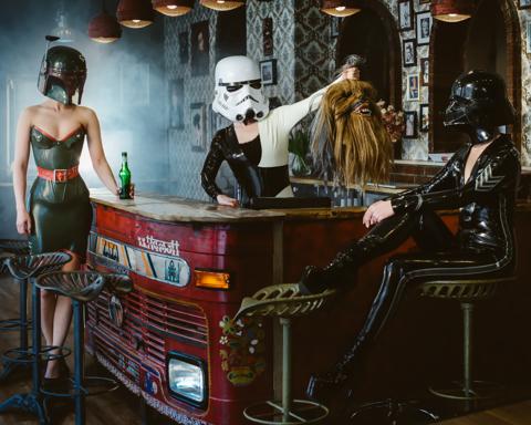 Картина по номерам на холсте Star Wars. Трофей Империи, 40см*50см