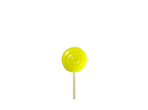Силиконовая конфета (жёлтая)