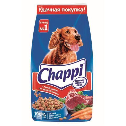 Корм CHAPPI Мясной обед Говядина 15 кг РОССИЯ