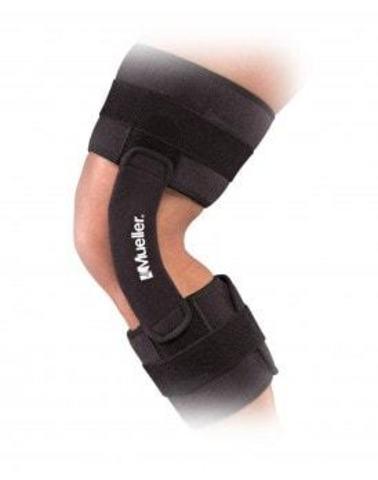 2100 Muellerhinge™ Шарнирный бандаж на колено Черный
