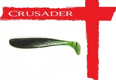 Виброхвост Crusader No.06 80мм, цв.001, 10шт.