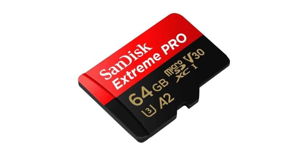 Карта памяти microSDXC 64GB SanDisk Class 10 UHS-I A2 C10 V30 U3 Extreme Pro