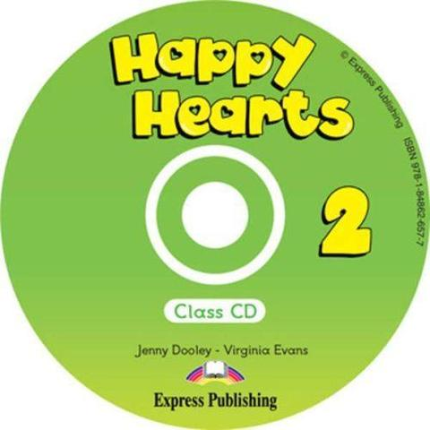 Happy Hearts 2. Class CD. Аудио CD для работы в классе