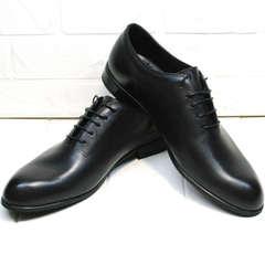 Мужские туфли оксфорды Ikoc 063-1 ClassicBlack