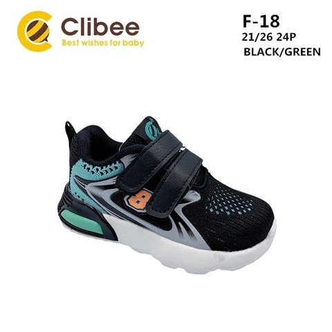 Clibee F-18 Black/Green 21-26