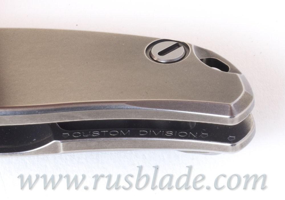 Shirogorov S90V SLIM KNIFE Custom Division - фотография