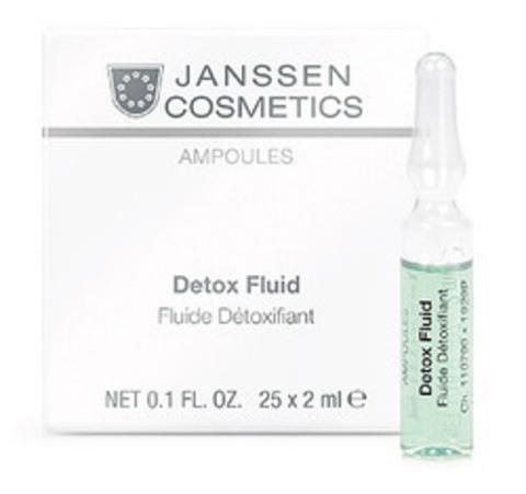 Детокс-сыворотка в ампулах, Janssen Cosmetics,3 x 2 мл