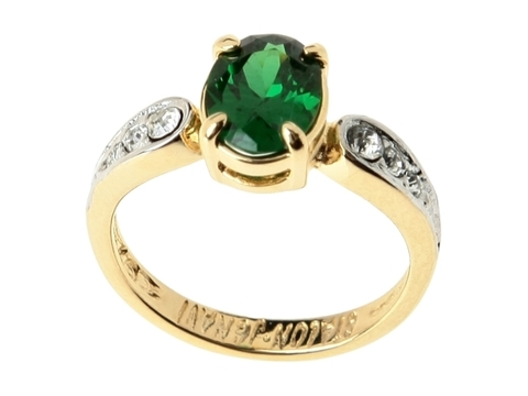 Кольцо с позолотой Нателио