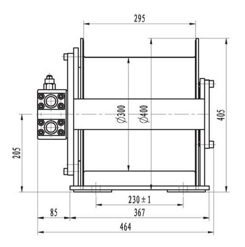 Эвакуационная лебедка IYJ3-15-122-10-ZPN
