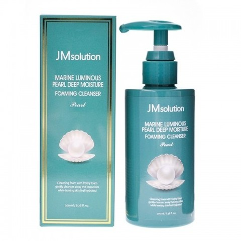 JMsolution Marine Luminous Pearl Bubble Deep Cleanser 300мл.