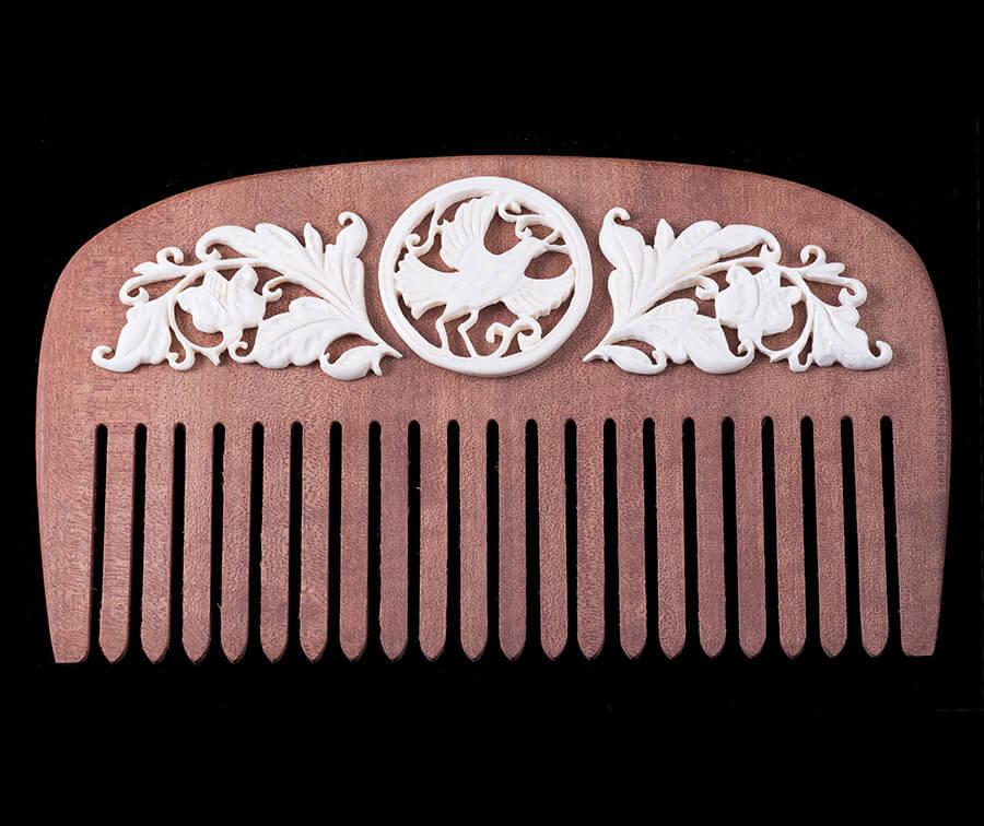 Гребень для волос «Голубка»