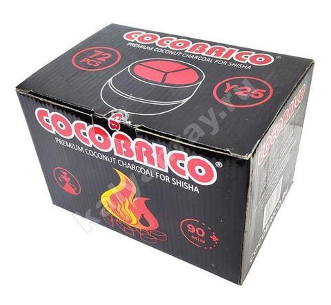Кокосовый уголь Cocobrico для Калауда 72 кубика
