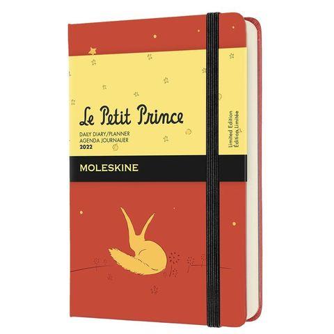 Ежедневник Moleskine (DPP12DC2Y22) LE L`Petit Prince Pocket 90x140мм 400стр. оранжевый