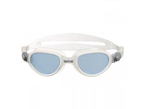 Очки для плавания SeacSub Fit прозрачный силикон белые
