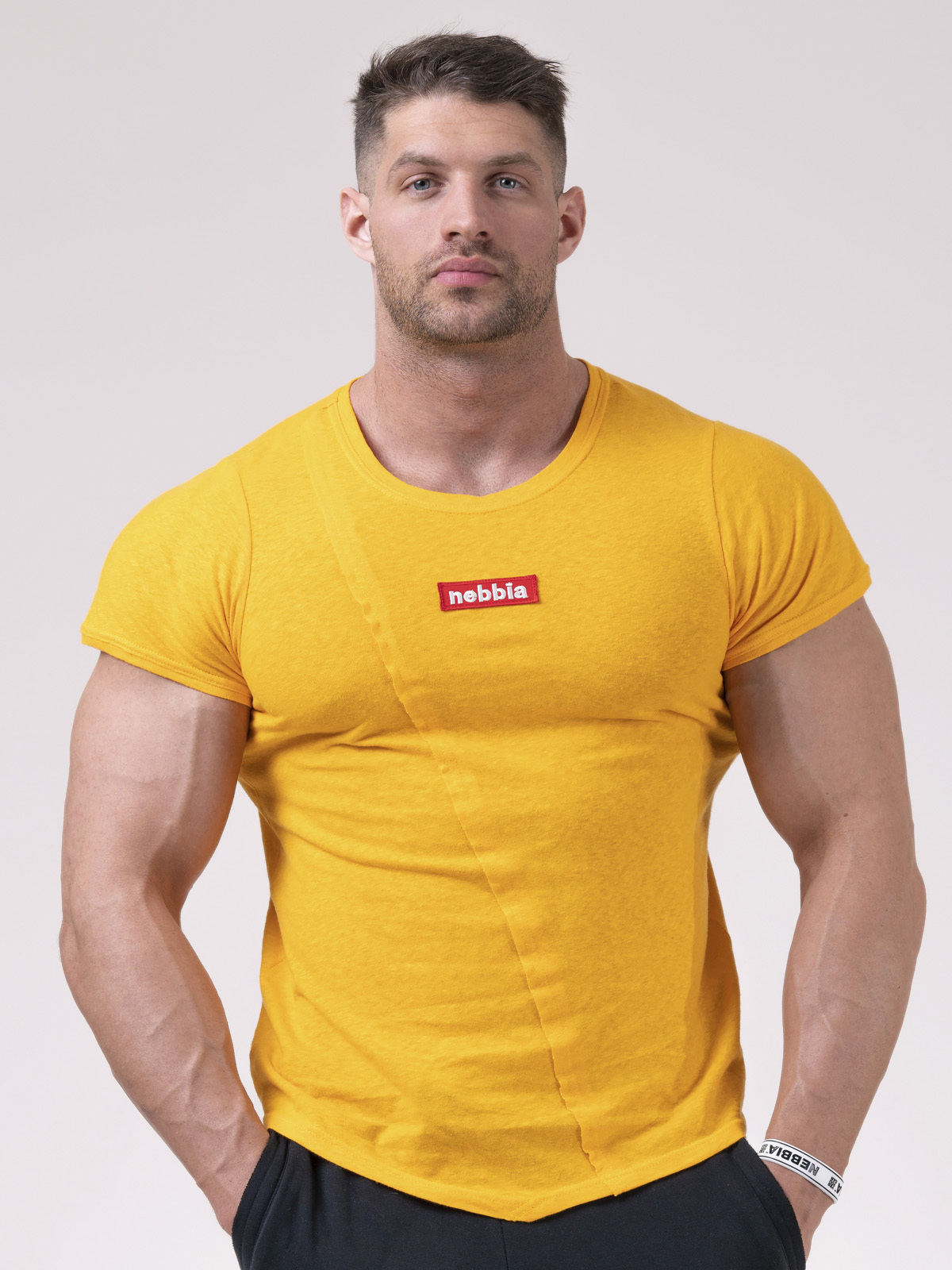 Футболка NEBBIA Red Label Muscle Back T-shirt 172 ORANGE