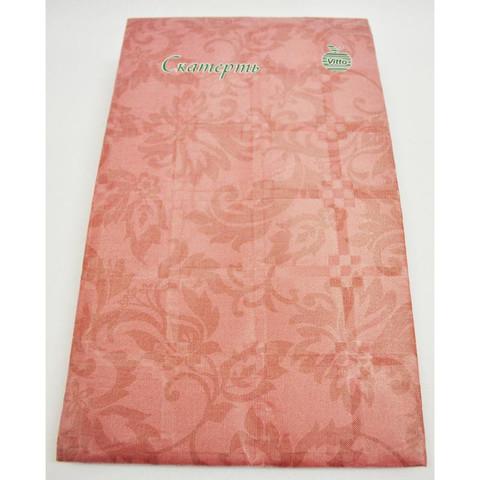 Скатерть одноразовая Vitto Prestige бумажная с полимерным покрытием 120x180 см бордовая