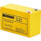 Аккумулятор YELLOW VL 12-9 ( 12V 9Ah / 12В 9Ач ) - фотография