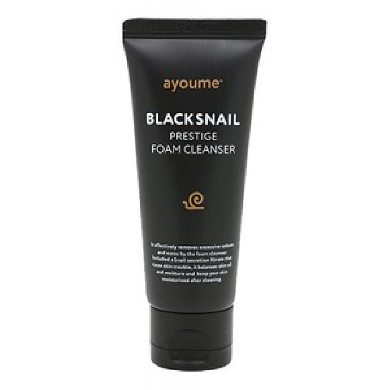 Пенки для умывания Пенка для умывания с муцином черной улитки  AYOUME BLACK SNAIL PRESTIGE FOAM CLEANSER 60 мл penka-800x800.jpg