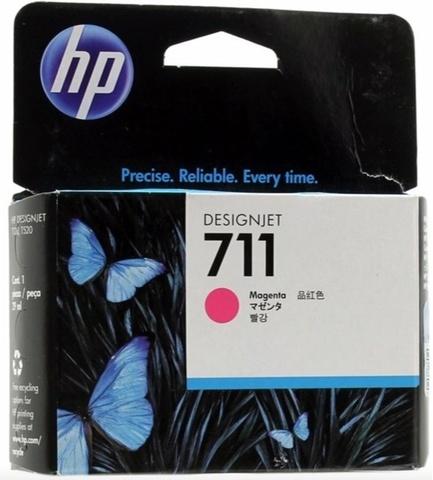 Оригинальный картридж струйный HP CZ131A 711 пурпурный