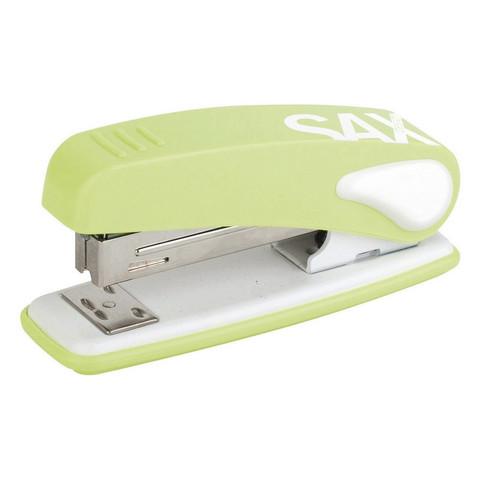 Степлер SAX DESIGN 239 (24/6, 26/6) 25 листов, салатовый