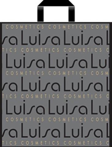 Пакет полиэтиленовый с петлевой ручкой 36х45+3 (55) матовый (Лонда)