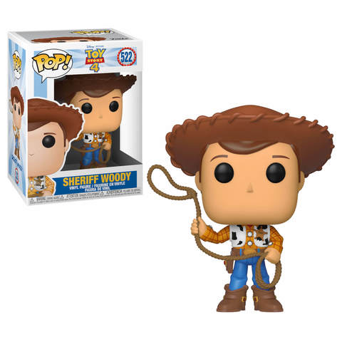 Sheriff Woody Toy Story 4 Funko Pop! Vinyl Figure || Шериф Вуди