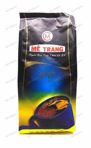 Вьетнамский молотый Me Trang Ocean Blue, смесь 2-х сортов, 500 гр.