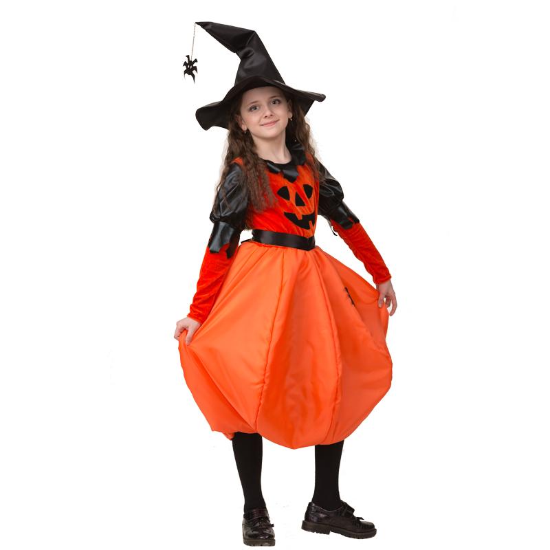 Карнавальный костюм для девочки Тыквочка