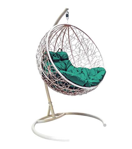 Кресло подвесное Milagro white/green