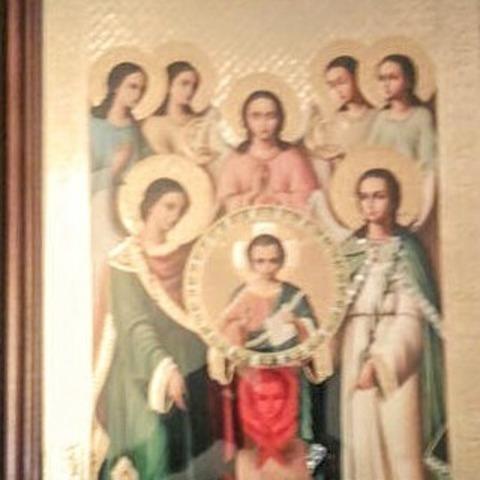 Икона Собор Архангела Михаила (в рамке)