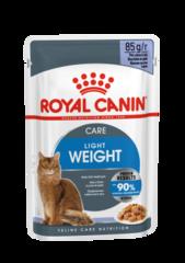 Пауч для кошек склонных к полноте, Royal Canin Ultra Light, в возрасте от 1 года до 7 лет, в желе