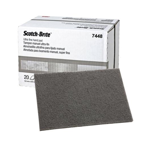 Абразивные материалы Шлифовальные листы Scotch-Brite™ 07448 ультратонкий (серый) 3M07448.jpg